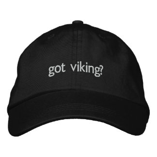 got viking? embroidered hat