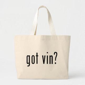 got vin canvas bags