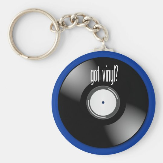 """Got Vinyl?"" Record Album Key Chain Keychains"