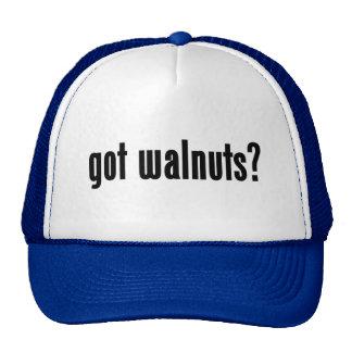 got walnuts? hats