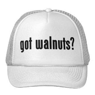 got walnuts? mesh hats