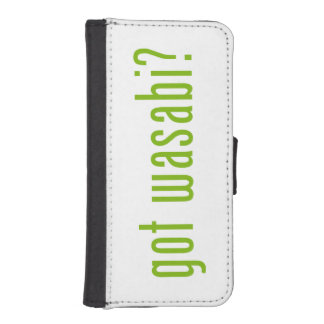 got wasabi? iPhone SE/5/5s wallet case