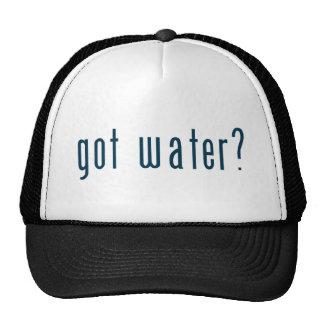 got water trucker hats