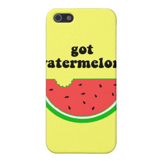 Got watermelon? case for iPhone 5/5S