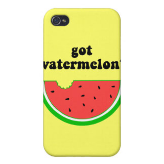 Got watermelon? iPhone 4/4S covers
