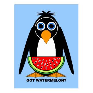 got watermelon postcard