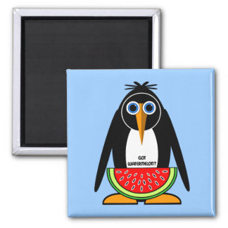 got watermelon square magnet