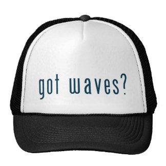 got waves mesh hat