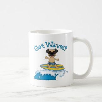 Got Waves? Pug Surfing Gifts and Tees Coffee Mug