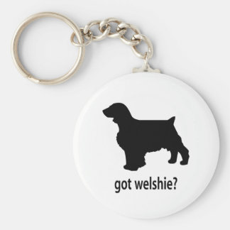 Got Welshie Basic Round Button Key Ring