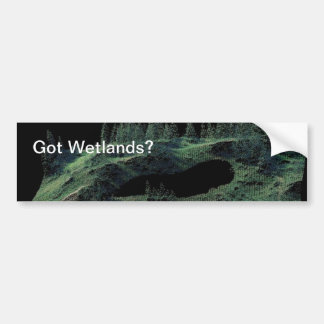 Got Wetlands? Bumper Sticker