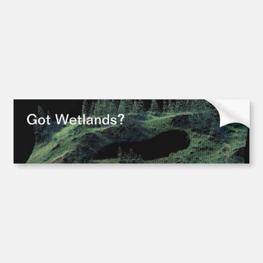 Got Wetlands? Bumper Sticker