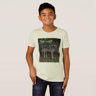 Got wolf? kids shirt