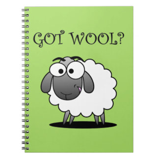 GOT WOOL? Journal Spiral Notebook