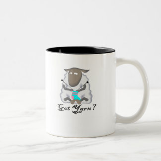 Got Yarn? T-shirts and Gifts. Two-Tone Coffee Mug