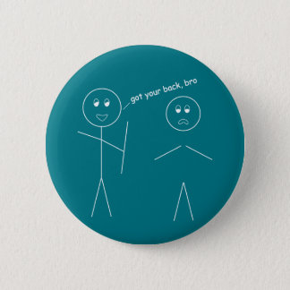 Got Your Back, Bro 6 Cm Round Badge