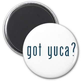 got yuca 6 cm round magnet
