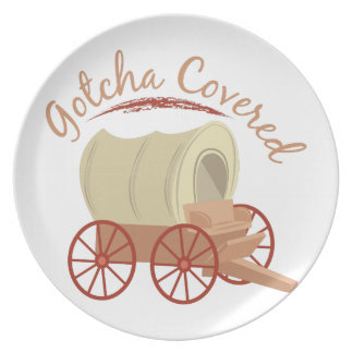 Gotcha Covered Party Plates