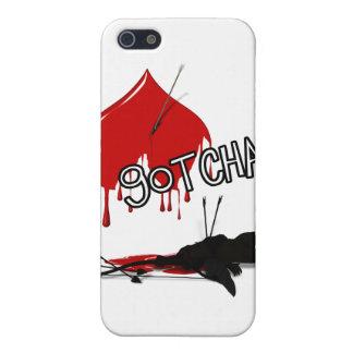 GOTCHA! Cupid's Down (Anti-Valentine) iPhone 5 Covers