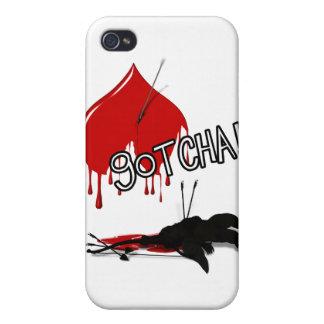 GOTCHA! Cupid's Down (Anti-Valentine) iPhone 4 Cover