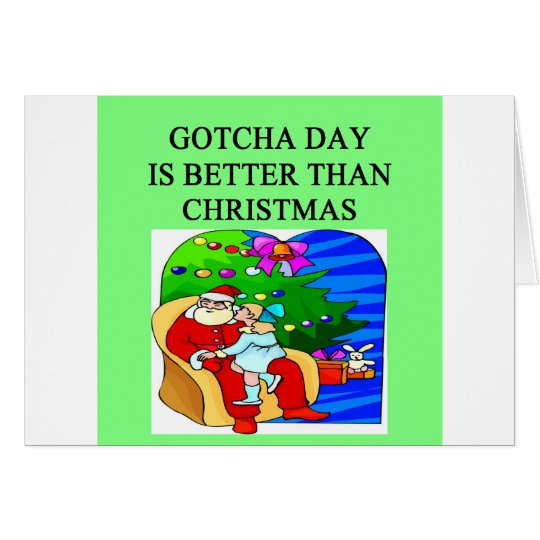 gotcha day adoption christmas idea card