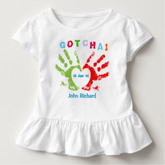 Gotcha Day - Adoption Design Toddler T-Shirt
