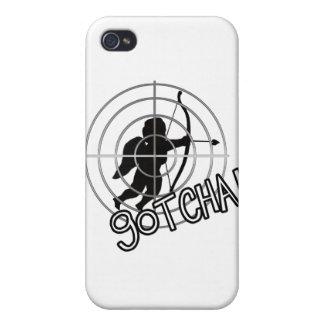 Gotcha In Sight iPhone 4 Cover