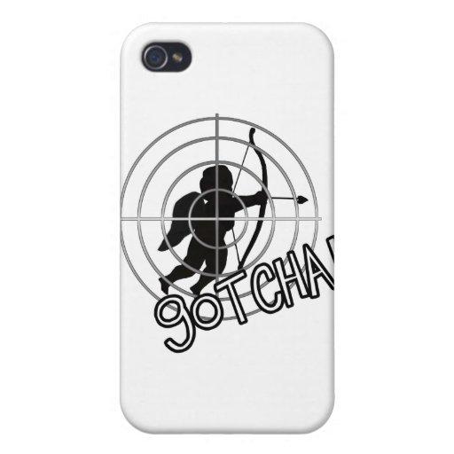 Gotcha In Sight! iPhone 4 Cover