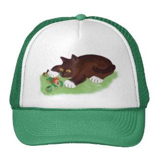 Gotcha Leprechaun Says Kitten Cap