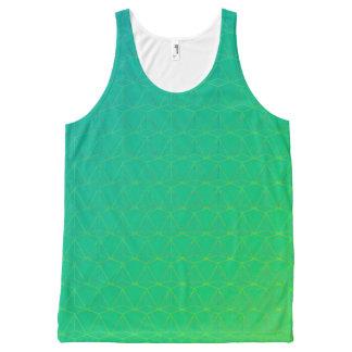 GOTCHA!  (Tank unissex) Green version All-Over Print Tank Top