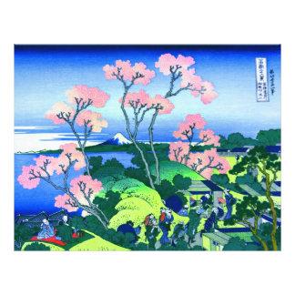 Goten-Yama Hill Cherry Blossom Fine Art 21.5 Cm X 28 Cm Flyer