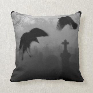 Goth Birds Cushion