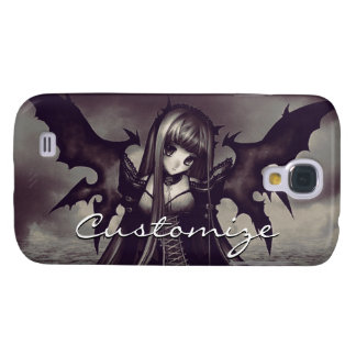 Goth Dark Fairy Anime Galaxy S4 Case