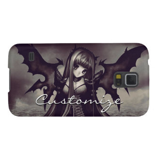 Goth Dark Fairy Anime Galaxy S5 Case