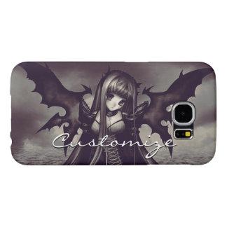 Goth Dark Fairy Anime Samsung Galaxy S6 Cases