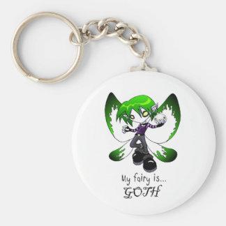 Goth Fairy Keychain