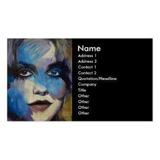 Goth Girl Business Card