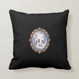 Goth Girl Cushion