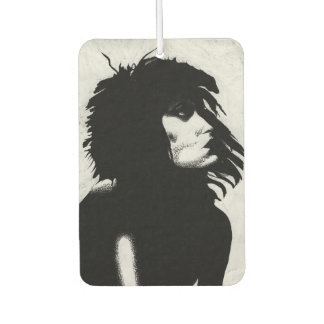 Goth Goddess Portrait Original Art Air Freshener