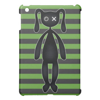 Goth Green and Black Bunny Cover For The iPad Mini
