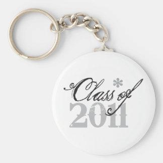 Goth Grunge Class of 2011 Key Ring