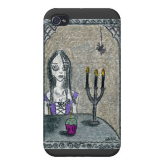 Goth Halloween iPhone 4/4S Cases