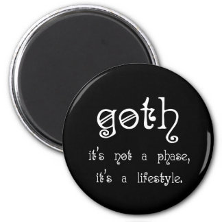 Goth: It's not a phase, it's a lifestyle Magnet