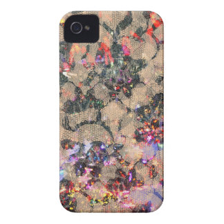 Goth Lace Roses Case-Mate iPhone 4 Case