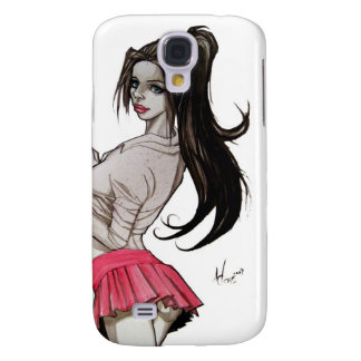 Goth Schoolgirl Samsung Galaxy S4 Case