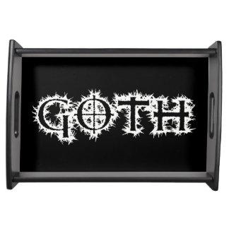 Goth Serving Tray