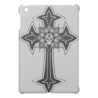 Goth Skull Cross iPad Mini Cases