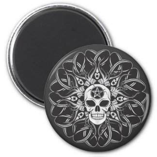Goth Skull Magnet