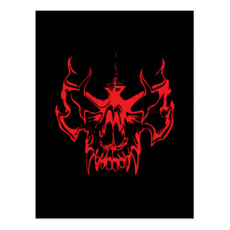 Goth Skull Postcards