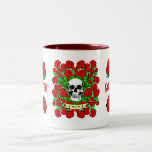 Goth Skull & Roses Mug